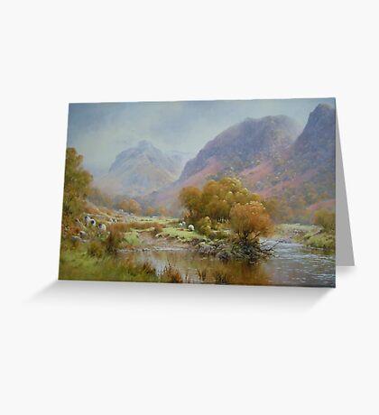 Borrowdale 2, Cumbria, England Greeting Card