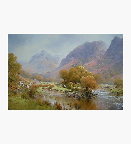 Borrowdale 2, Cumbria, England Photographic Print
