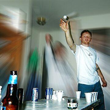 Beer Pong! by eelsblueEllen