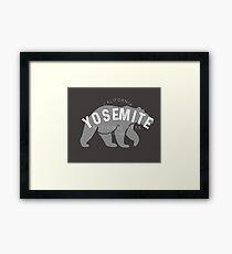 Yosemite National Park TShirt Framed Print