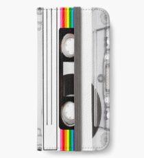 retro vintage  80s cassette tape iPhone Wallet/Case/Skin
