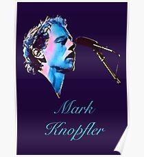 Mark - watercolor Poster