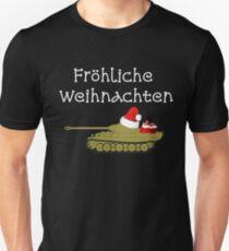 Fröhliche Weihnachten / Merry Wehrmacht Christmas Unisex T-Shirt