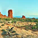 In Arches NP, Utah! by Peter Doré