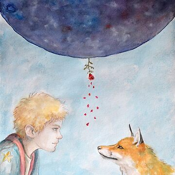 About a prince, a fox, a rose, and love by LauraMSS