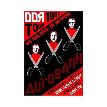 Autobahn Big Lebowski cult film Nihilist band shirt by SOpunk