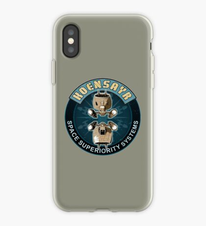 Koensayr Space Superiority Fighter - Back iPhone Case