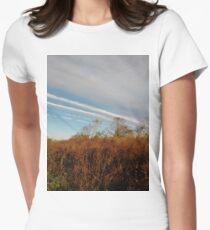 Autumn, Calvert Vaux Park, New York City, Brooklyn #Autumn #CalvertVauxPark, #NewYorkCity, #Brooklyn, Bay 44th St. &, Hunter Ave, Brooklyn, NY 11214, USA Women's Fitted T-Shirt