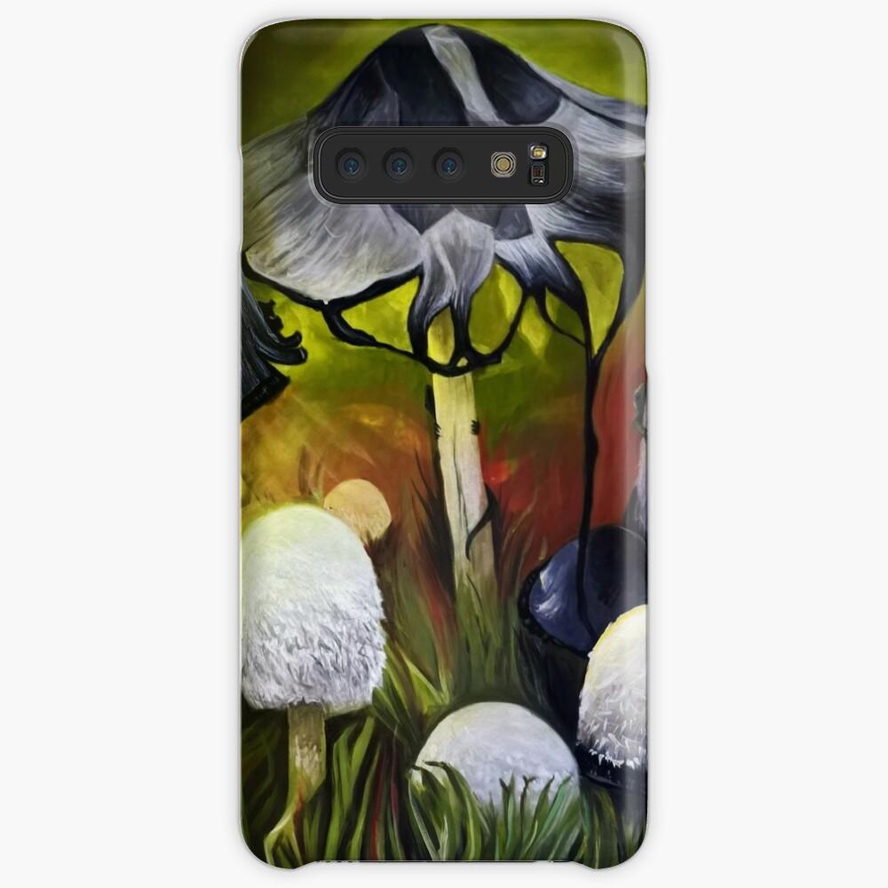 Mushrooms Case & Skin for Samsung Galaxy