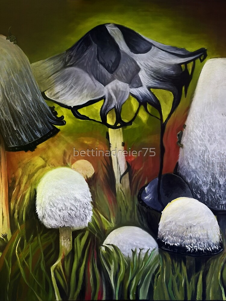 Mushrooms by bettinadreier75