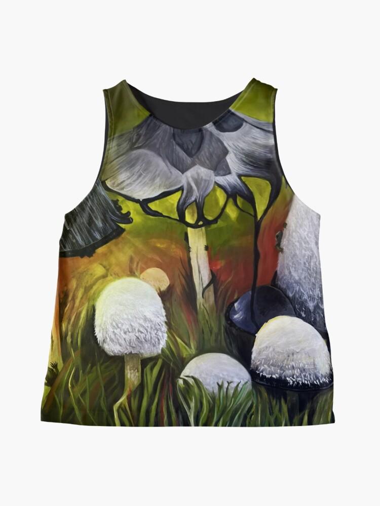 Alternate view of Mushrooms Sleeveless Top