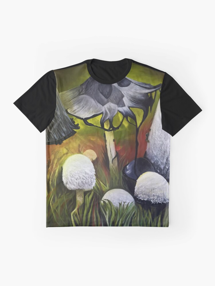 Alternate view of Mushrooms Graphic T-Shirt