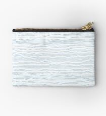 Blue mirage - a handmade pattern Zipper Pouch