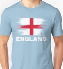 England - English Flag | Sports Soccer Football Gift Unisex T-Shirt