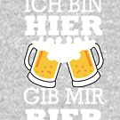 I'm here gid me beer by Faba188