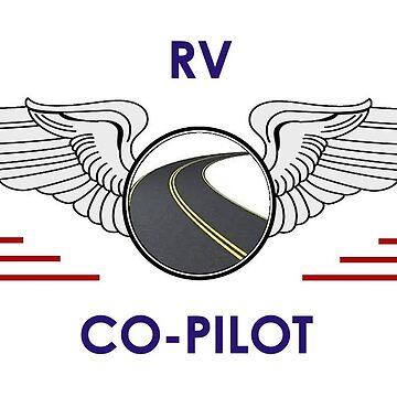 Silver Co-Pilot Wings Help Drive Your Motorhome by teakastreasures