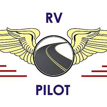 Pilot Wings Drive Your Motorhome Down The Road by teakastreasures