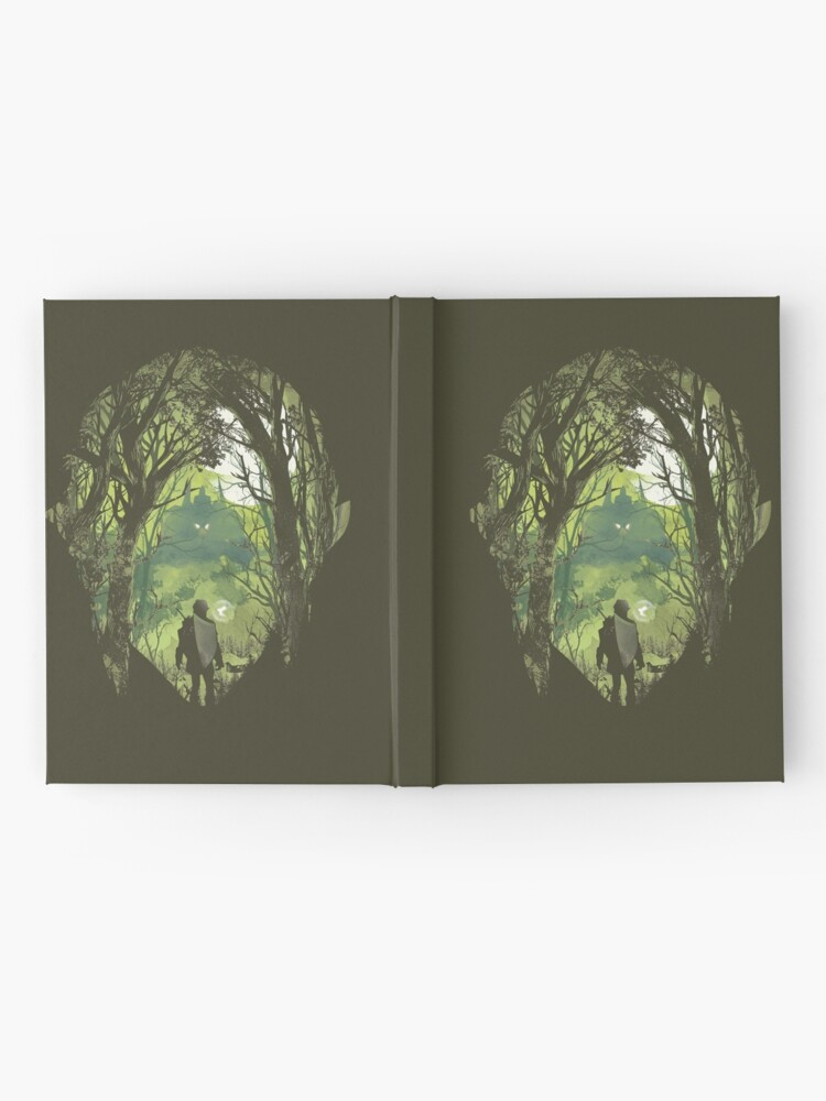 Alternate view of It's dangerous to go alone Hardcover Journal