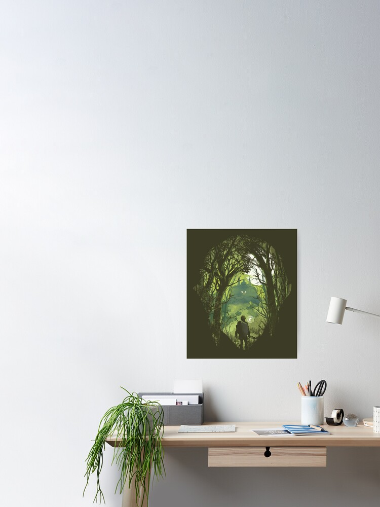 Alternate view of It's dangerous to go alone Poster