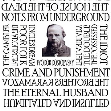 Dostoevsky Works by silentstead