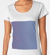 design lnes, blue Women's Premium T-Shirt
