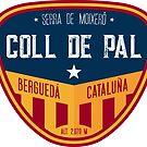 Coll de Pal - Catalonia Spain, T-Shirt + Sticker by ROADTROOPER