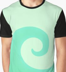 Mint Swirl Graphic T-Shirt