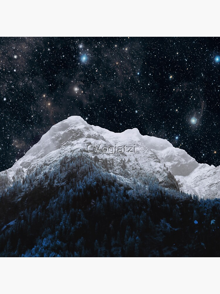 Mountains Attracts Galaxy by CVogiatzi