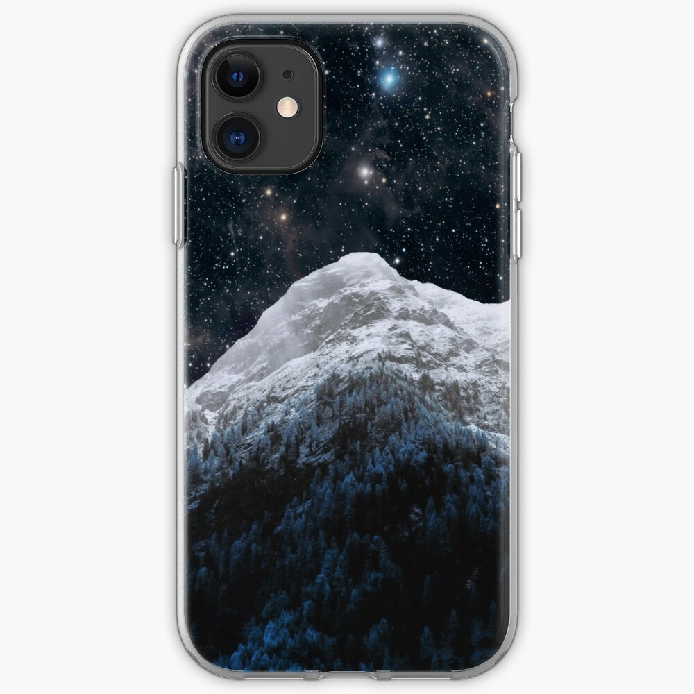 Mountains Attracts Galaxy iPhone Case & Cover