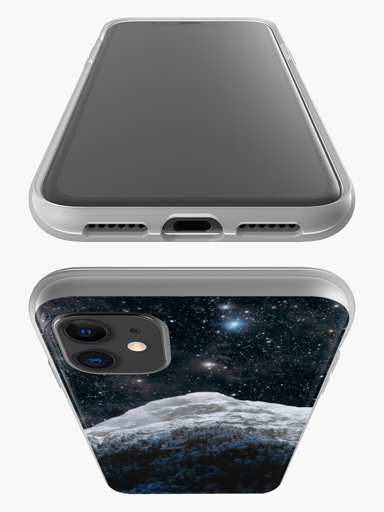 Alternate view of Mountains Attracts Galaxy iPhone Case & Cover