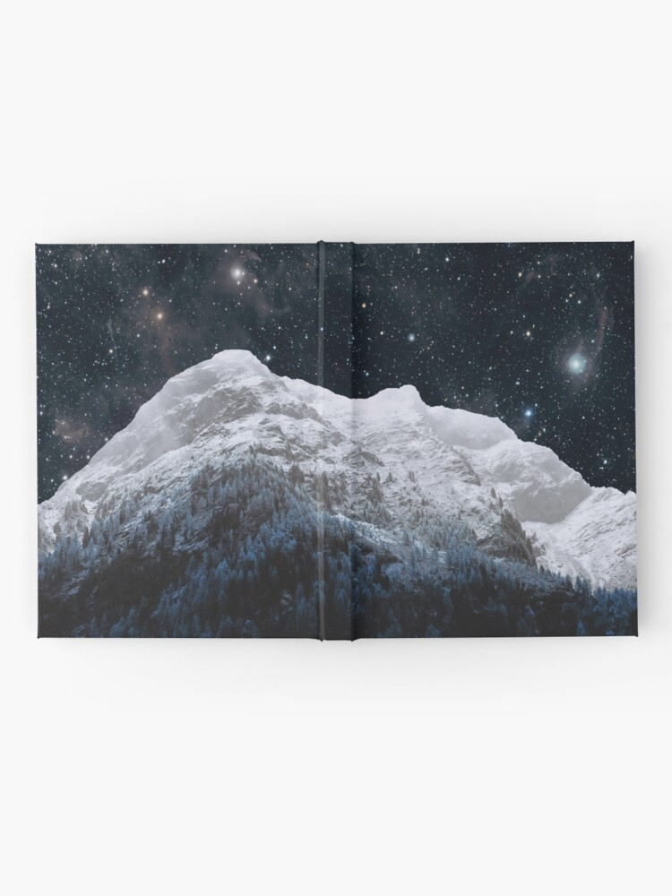 Alternate view of Mountains Attracts Galaxy Hardcover Journal