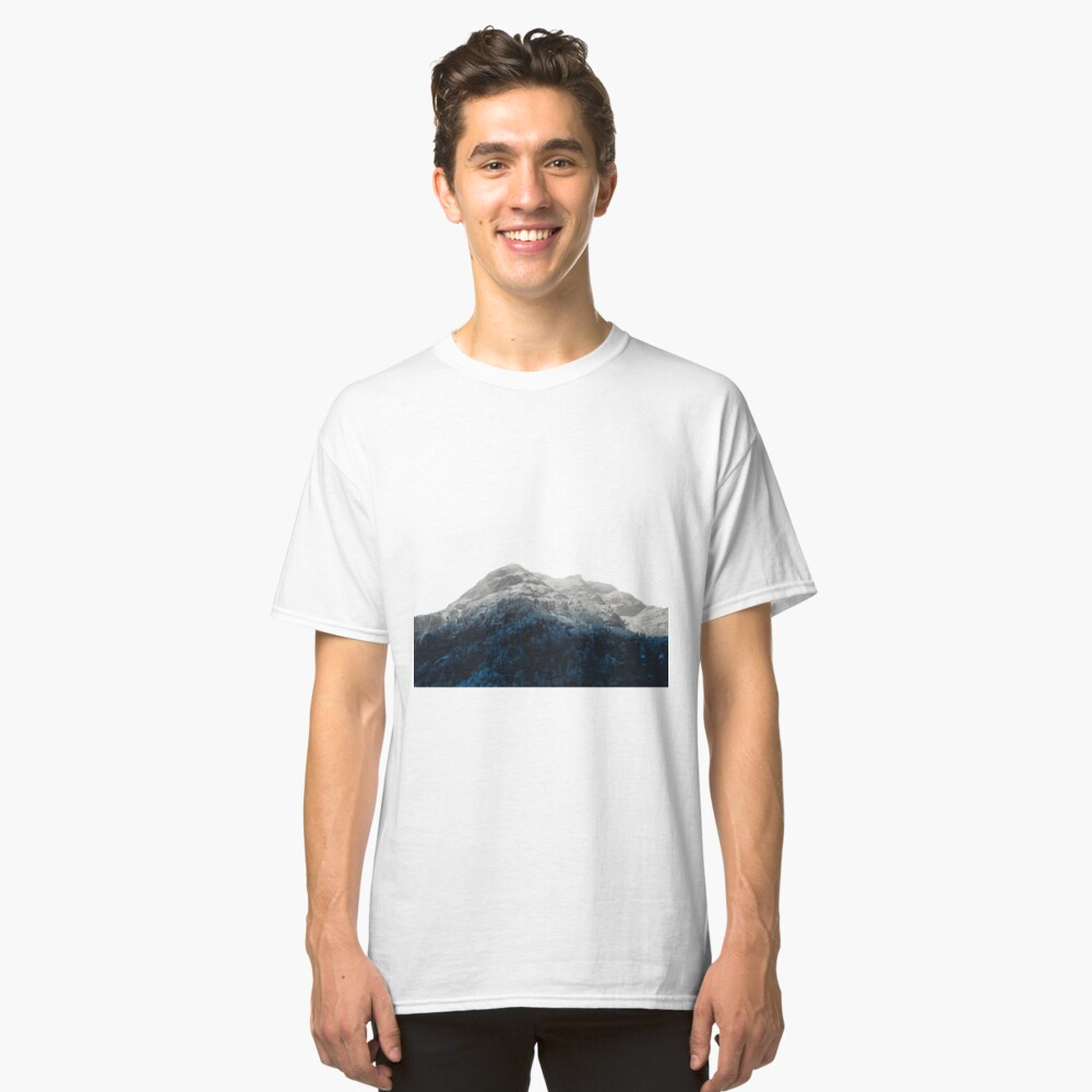 Mountains Attracts Galaxy Classic T-Shirt