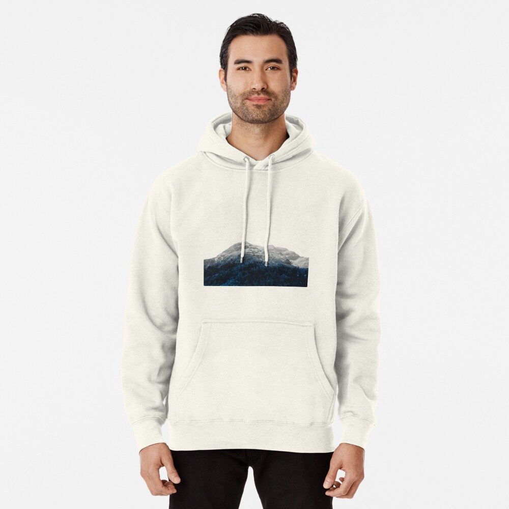Mountains Attracts Galaxy Pullover Hoodie