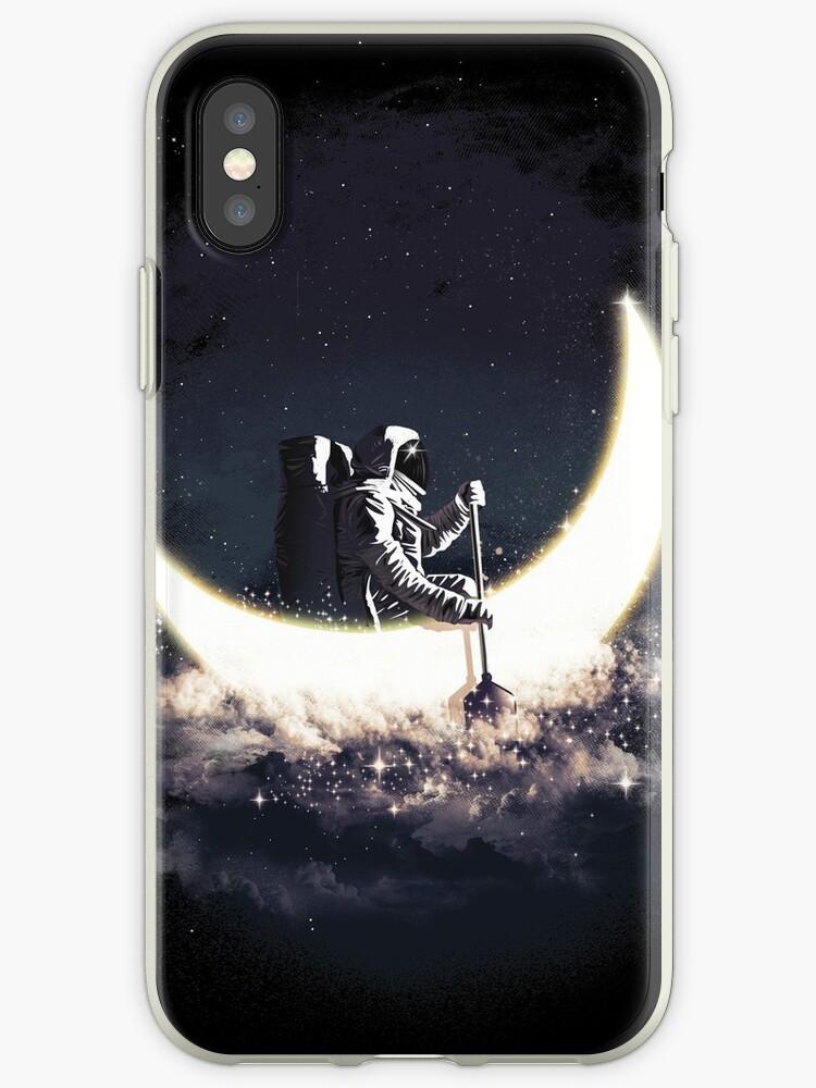 Mond Segeln von Dan Elijah Fajardo