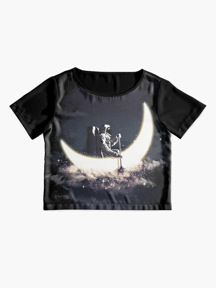 Alternative Ansicht von Mond Segeln Chiffontop