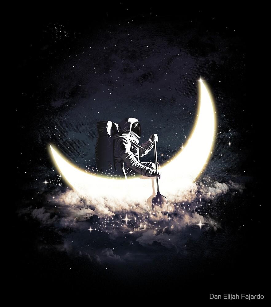 Moon Sailing by Dan Elijah Fajardo