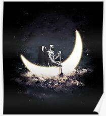 Mond Segeln Poster