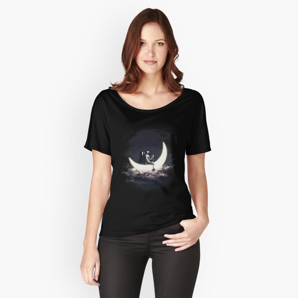 Mond Segeln Baggyfit T-Shirt
