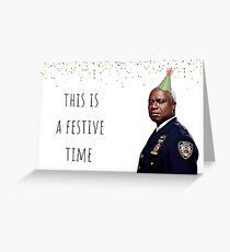 Brooklyn Nine Nine Captain Holt card/sticker,mug, Birthday, Anniversary, Mothers day, Fathers day, Graduation, Festive Greeting Card