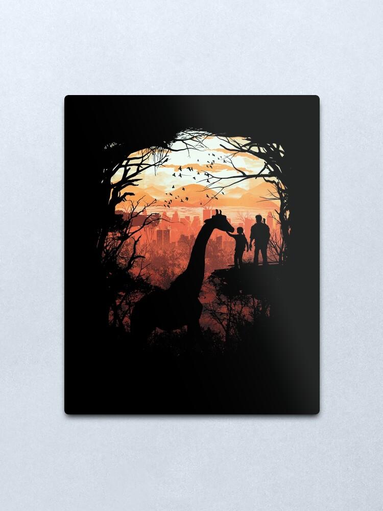 Alternate view of The Last of Us Metal Print