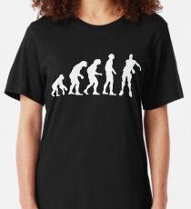 Evolution of Gamers | Floss Dance  Slim Fit T-Shirt