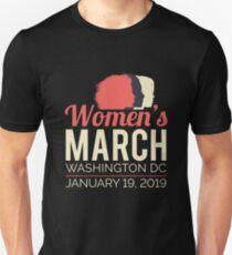 Frauen März 2019 Washington DC Slim Fit T-Shirt