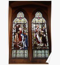 Rossetti Memorial Window Birchington Poster
