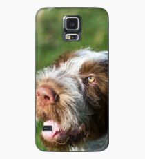 Spinone Puppy Smile - Brown Roan Italian Spinone Puppy Dog Head Shot Case/Skin for Samsung Galaxy
