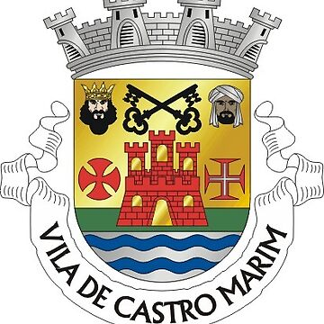 Coat of Arms of Castro Marim, Portugal by Tonbbo