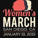 Women's March 2019 San Diego by oddduckshirts