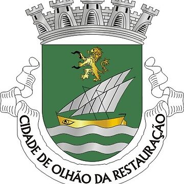 Coat of Arms of Olhão, Portugal by Tonbbo