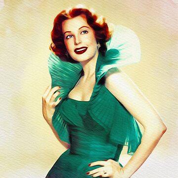 Arlene Dahl, Vintage Actress by SerpentFilms