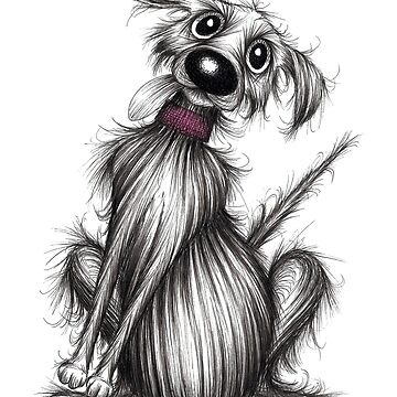 Mr Woof by KeithMillsArt