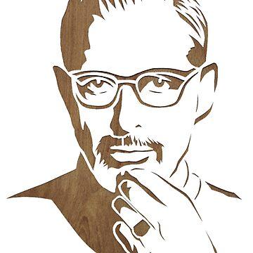 Jeff Goldblum by elliemar